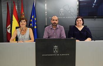 Concejales de Unidas Podemos.