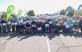 XIII Carrera Solidaria 'Avanzando Juntos-Memorial Ismael Araújo Martín', organizada por la Asociación de Enfermedades Neuromusculares de Castilla-La Mancha (ASEM-CLM)