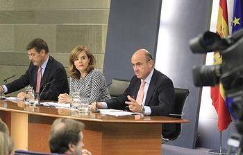 Rueda de prensa posterior al Consejo de Ministros (Foto: Pool Moncloa)