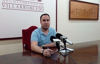 Germán Nieves, concejal de Empleo en el Ayuntamiento de Villarrobledo,