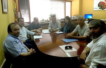 ASAJA de Toledo traslada a agricultura los problemas de los ganaderos de ovino y caprino. Foto: ASAJA CLM.