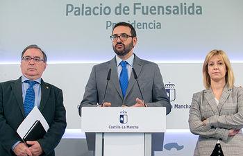Sergio Gutiérrez, Fernando Mora y Ana Isabel Abengózar. Foto: A.Perez Herrera