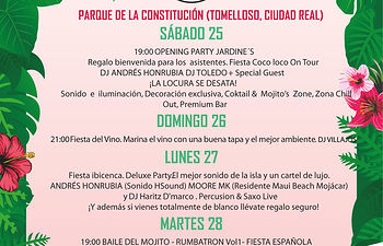 Fiestas Tomelloso 2018..