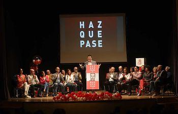 Presentación candidatura PSOE Almansa