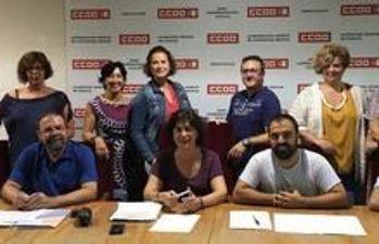 Ejecutiva Servicios CCOO CLM