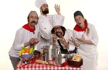 Yllana llega este jueves a Valdepeñas con 'Chefs'