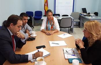 Reunión del presidente PP CLM y la presidenta PP Guadalajara con el Grupo Popular Municipal de Azuqueca.