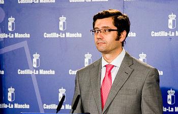 Arturo Romaní, en rueda de prensa. Foto: JCCM.