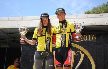 Milton Ramos y Lucía Rojas, vencedores de la III Edición Copa BTT Desafío Albacete.