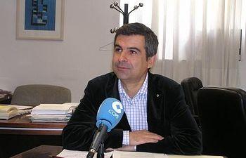 Rogelio Pardo, portavoz del PP en la Diputación.