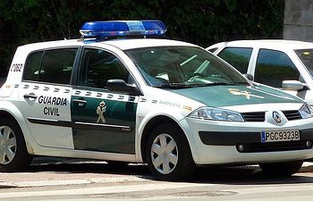 Coche de la Guardia Civil. Archivo.