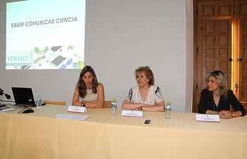 De izqda. dcha.: Mariana Boadella, María Ángeles Zurilla y Rosa María Martínez.