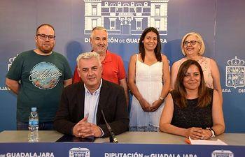 Nuevo equipo de Gobierno de la Diputación de Guadalajara.