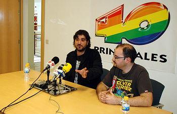 Antonio Orozco, en la rueda de prensa previa a la charla-concierto.