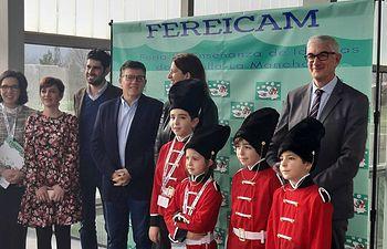 Inauguración de la I Feria de Enseñanza de Idiomas de Castilla-La Mancha.
