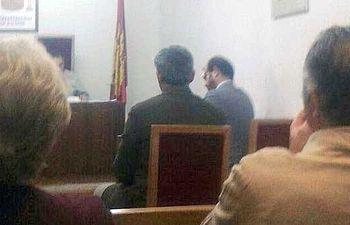 Fotografía del juicio