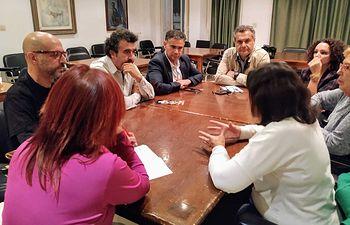 Reunión Memoria Histórica.