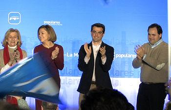 Presentación oficial de la candidatura de Javier Cuenca a la alcaldía