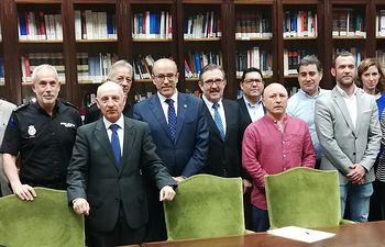 Reunión de coordinación entre los Juzgados de Instrucción de Albacete y la Policía Judicial
