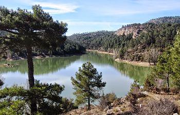 Embalse de La Toba - Cuenca. Fuente: https://dwarfcu.blogspot.com