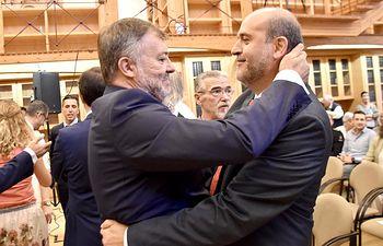 El vicepresidente primero en funciones, hoy en Cuenca.
