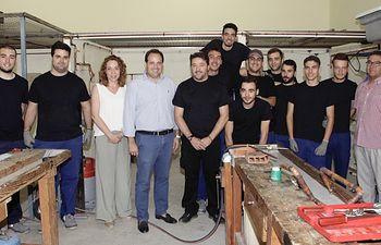 Un total de 14 jóvenes se forman en montaje gracias al programa 'Empleate Joven Almansa'