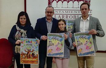 Presentados los carteles ganadores del Carnaval 2018 de Villarrobledo