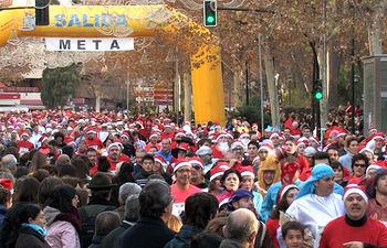 Carrera de San Silvestre en Albacete. Foto de Archivo.