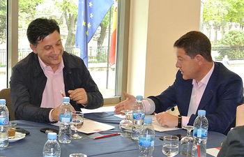 Julián Morcillo y Emiliano García-Page