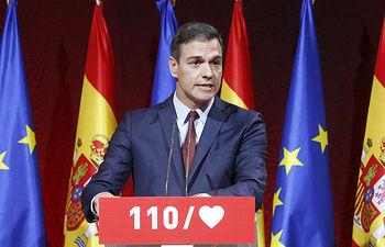 Pedro Sánchez presenta #110CompromisosPSOE