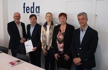 FEDA Confederación de Empresarios de Albacete se reúne con UPyD