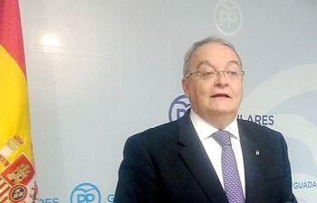 Juan Antonio de las Heras senador  del PP por Guadalajara.