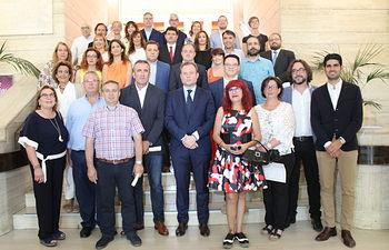 Los nueve alcaldes pedáneos de Albacete han tomado posesión este jueves en un acto celebrado en el Ayuntamiento