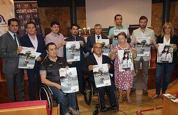 Presentación X Trofeo Ciudad de Albacete de Tenis en Silla de Ruedas.