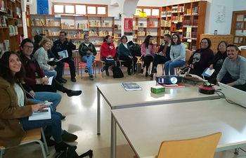 Grupo de Discusión en Molinicos.
