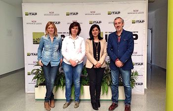 El Grupo Municipal de Ciudadanos (C's) Albacete realiza una visita de cortesía a las instalaciones del ITAP