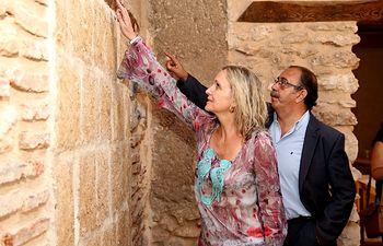 Casero visita el Palacio de la Clavería de Aldea del Rey-1. Foto: JCCM.