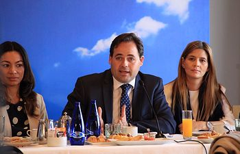 Núñez mantiene un encuentro informativo con medios de comunicación en Toledo