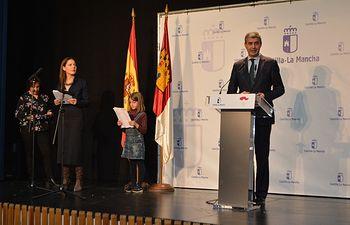Acto oficial del Día del Libro en Castilla-La Mancha.