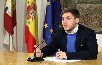 Nacho Hernando informa sobre los acuerdos del Consejo de Gobierno I. Foto: JCCM.