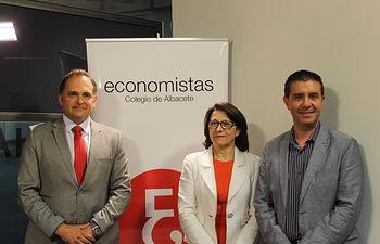 La Diputación acoge un debate electoral a cuatro organizado por el Colegio de Economistas