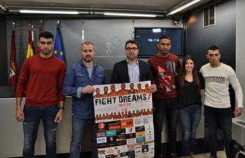 Presentación 'Fight Dreams. Trofeo de la Navaja' de Albacete.