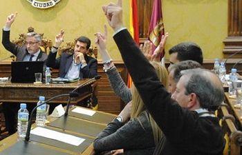 Pleno Ayuntamiento de Valdepeñas.