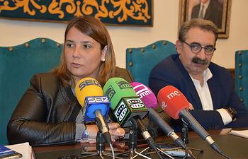 Tita García Élez, alcaldesa de Talavera de la Reina.