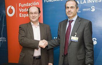 Convenio Parapléjicos y Fundación Vodafone España. Foto: JCCM.