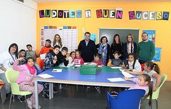 Inauguración ludoteca municipal ubicada en el Centro Sociocultural del Buen Suceso.