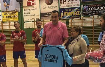 Partido de exhibición ONCE Albacete y CP Villarrobledo