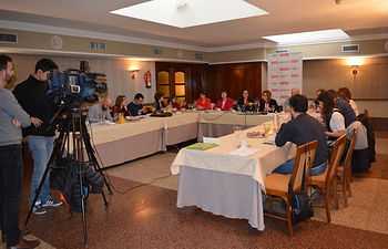 Desayuno informativo CCOO Albacete.