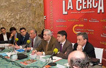 El director general de Mercados Alimentarios, Federico López, durante la mesa debate sobre la reforma de la OCM del vino celebrada hoy en la Bodega Los Aljibes, en Chinchilla de Montearagón (Albacete), en el marco de la II Edición del Forum Castilla-La Mancha Siglo XXI, organizado por el grupo de comunicación La Cerca.