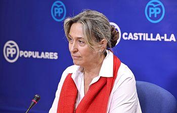 Ana Guarinos, vicepresidente segunda de las Cortes de Castilla-La Mancha y diputada regional del GPP.